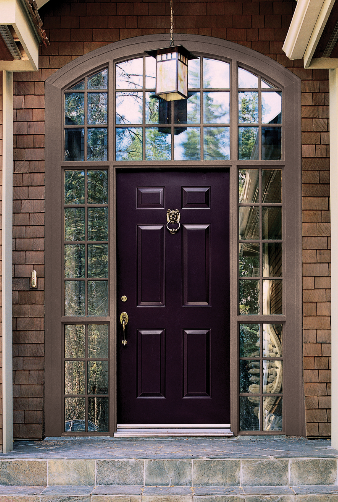 Dark Purple Door